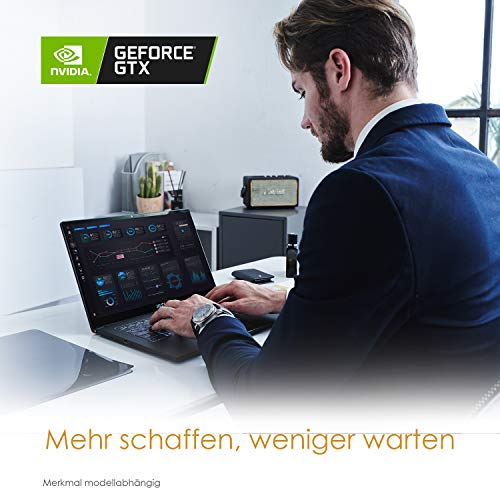 MSI Summit E15 A11SCST-056 39,62 cm (15,6 Zoll) Business Notebook (Intel Core i7-1185G7, Nvidia GeForce GTX 1650 Ti 4GB GDDR6 VRAM; 16GB DDR4-3200; Windows Pro)