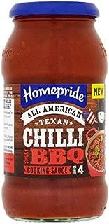 Homepride Texan Chilli Smoky BBQ - 500g (1.1lbs)