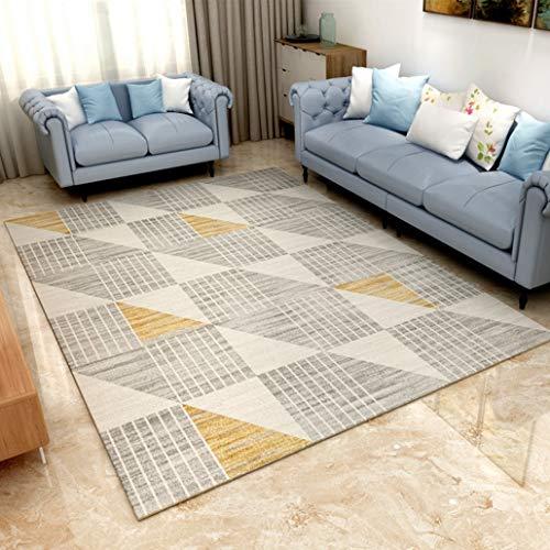 Jwans Teppich für Wohnzimmer Weiches und bequemes Schlafzimmer Bettdecke Arbeitszimmer Küche rutschfest Mechanisch/Handw?sche Bodenmatte