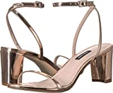 NINE WEST Provein Block Heel Sandal Pink Synthetic 8