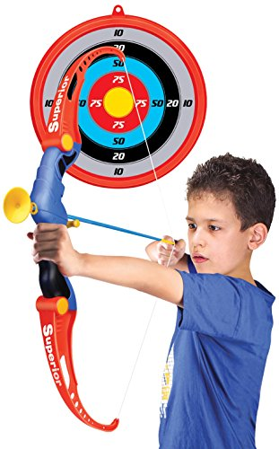 New Plast AX1915 - Kid Set Arciere con Frecce e Bersaglio