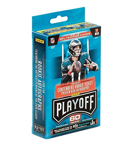 2019 Panini Playoff Football Hanger Box- 6 Rookies, 6 Parallels, 6 Inserts Per Box | Rookie Goal Line Exclusives! 60 Cards Total in Hanger Box