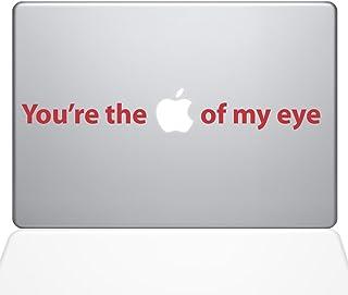 "The Decal Guru You're the Apple of my Eye Macbook Decal Vinyl Sticker  - 13"" Macbook Air - Red (0195-MAC-13A-DR)"