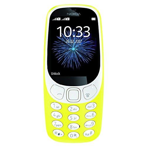 Nokia 3310 3G - Unlocked Single SIM Feature Phone (AT&T/T-Mobile/MetroPCS/Cricket/Mint) - 2.4