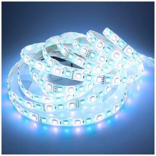 LTRGBW La striscia flessibile della striscia luminosa eccellente della striscia di SMD5050 LED di 24V DC 360LEDs RGB + Cold fredda LED RGBW LED illumina il silicone 5M impermeabile IP65