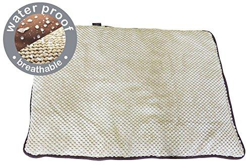 PAWISE Teflon-Matte, braun, 114 x 70 cm