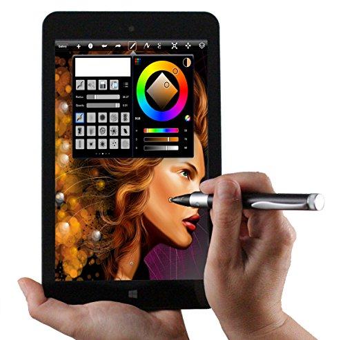 Navitech Precision Stylet Gris à Pointe Fine Compatible avec Tablette Toshiba Kira/Toshiba Portege Z20T / Toshiba Satellite Click
