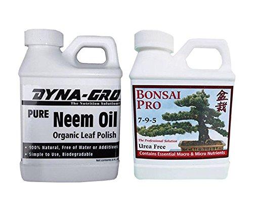 Bonsai Pro 7-9-5 & Neem Oil Combo (PRO-NEEM-2)