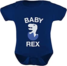 TeeStars - Baby REX - Cute Boy T-Rex Hatching Egg Funny Baby Bodysuit