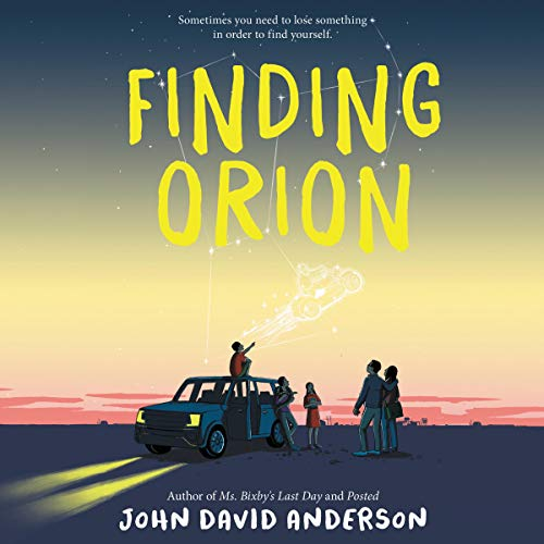 Finding Orion audiobook cover art