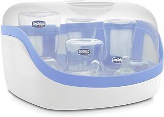 Esterilizador de microondas, Chicco, Branco e Azul