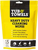 Tub O Towels Heavy Duty Cleaning Wipes, Individually Wrapped Multi Surface Wipes