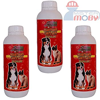 DISSUASIF REPOUSSANT ANTI CHIENS CHATS NATURAL GRANULAIRE 3x 1 LT