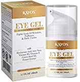 Kayos Eye Gel, Hyaluronic acid for Wrinkles, Fine Lines, Dark Circles, Puffiness, Bags - Hydrating,...