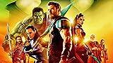 ZPDWT Thor: Ragnarok Movie Puzzle de 1000 Piezas para Adultos la Mejor Juegos de Habilidades Familiares Bricolaje, Regalo de cumpleaños de Navidad Ideal 75*50cm