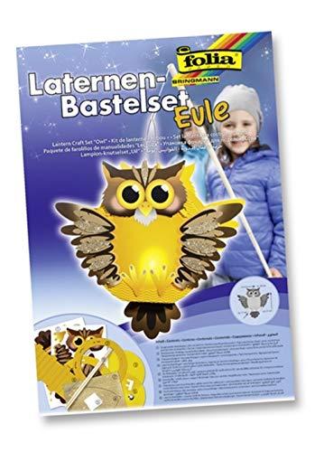Folia Laternen Bastelset Eule - Sankt St. Martin Laterne Basteln Kinder Laterne