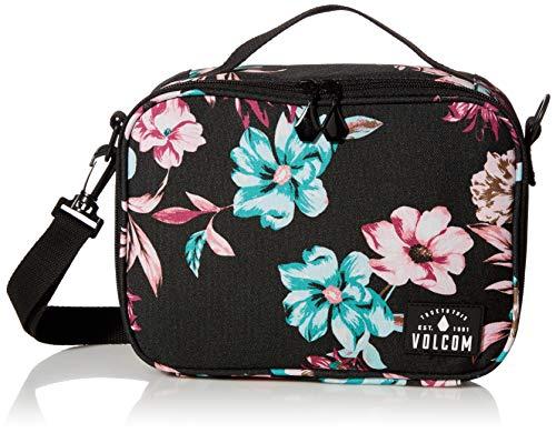 Volcom Women's Brown Bag Lunch Box, Black, One Size