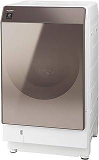 シャープ 洗濯機 ドラム式洗濯機 ヒートポンプ乾燥 右開き(ヒンジ右) DDインバーター搭載 ブラウン系 洗濯11kg/乾燥6kg 幅640mm 奥行728mm ES-G112-TR
