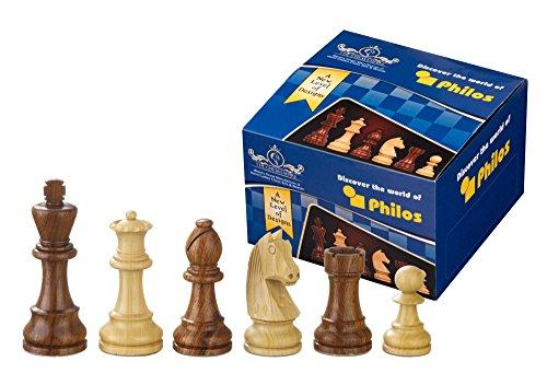 Philos 21891 - Artus, KH 110 mm Schachfiguren (ohne Schachfigurenbox)