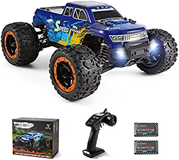 MIEBELY 4WD RC Monster Truck with 2 Rechargeable Batteries