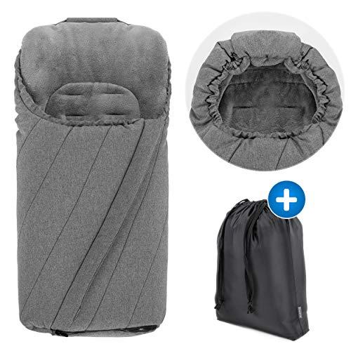 Saco para silla de paseo con forro polar térmico Zamboo