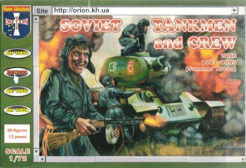 ORION ori72036 – Soviet tankmen and Crew, 1943–1945, Plastique de modèle