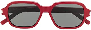Saint Laurent Men's SL292004 Red Acetate Sunglasses