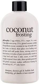 Philosophy Coconut Frosting 3 In 1 Shampoo, Shower Gel & Bubble Bath 480Ml
