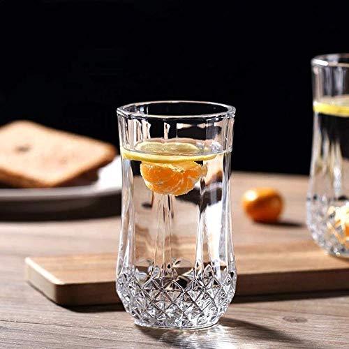 PrimeWorld Glassware Water/Juice Glass – 6 Pieces, Transparent, 300 ml