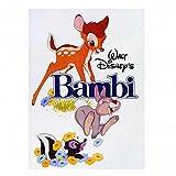 Echte Disney Klassische Bambi Film Poster Kühlschrank