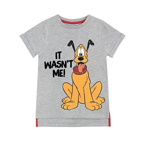 Disney T-Shirt per Ragazzi {Grigio 5-6 anni}