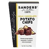 Sanders Milk Chocolate Covered Potato Chips Snacks, 6 oz Gift Box