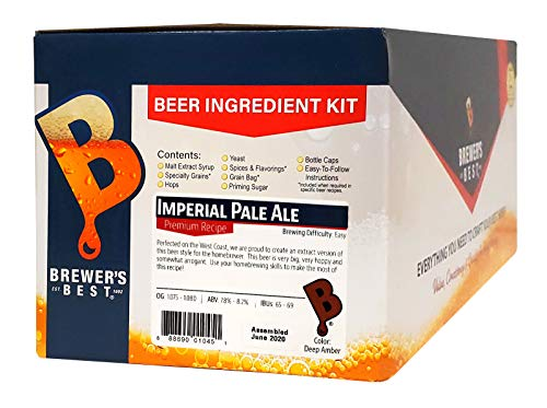 Brewer's Best - Home Brew Beer Ingredient Kit (5 gallon), (Imperial Pale Ale)