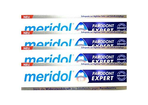4x MERIDOL Parodont-Expert Zahnpasta 75 ml PZN 12442269 gegen Parodontitis