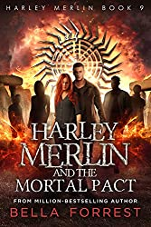 Cover Harley Merlin and the Mortal Pact