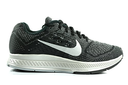Nike W Zoom Structure 18 Flash Black/Black/PWTRGY/(White) - 7