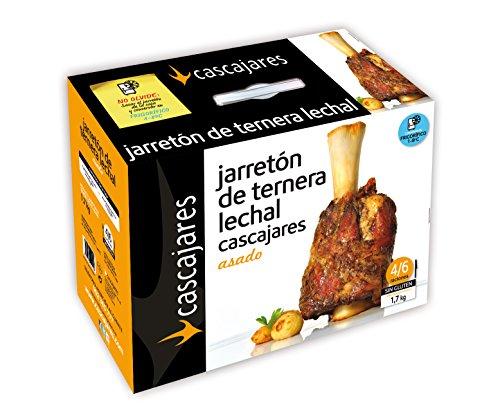 CASCAJARES - Jarretón de Ternera Lechal Asado. 1.7 kilos de Jarrete ya cocinado, listo para terminar en horno. Ideal para 3-4 personas.