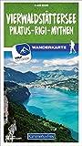 Vierwaldstättersee / Pilatus - Rigi - Mythen 20 Wanderkarte 1:40 000 matt laminiert (Kümmerly+Frey Wanderkarten)