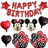 Decoraciones de cumpleaños de Mickey Mouse, BESTZY Globos n