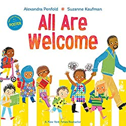 all are welcome book about starting kindergarten