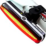 Ultra Bright Bike Light Blitzu Cyborg 168T USB Rechargeable Bicycle...