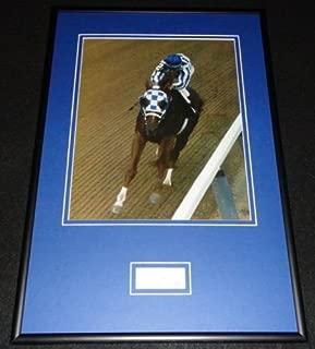 Ron Turcotte Signed Framed 12x18 Photo Poster Display JSA Secretariat