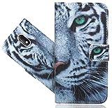 Wiko Sunny 3 Mini Handy Tasche, FoneExpert® Wallet Case Flip Cover Hüllen Etui Hülle Ledertasche Lederhülle Schutzhülle Für Wiko Sunny 3 Mini