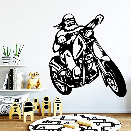 hetingyue muursticker, mode, motorfiets, muurstickers, schilderen, woonkamer decoratie