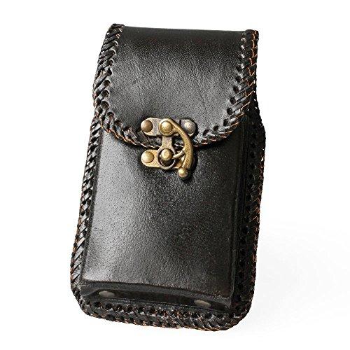 スマホケース iPhoneケース レザー マルチケース 硬質牛革 ハンドメイド タバコケース アイコス グロー モバイルケース