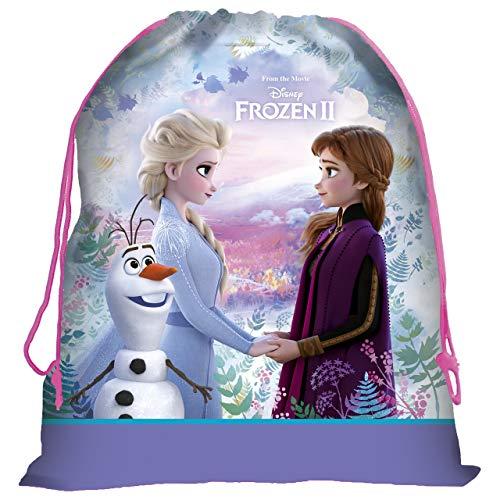 Disney Frozen Die Eiskönigin Turnbeutel Sporttasche Schuhbeutel Tasche Sportbeutel