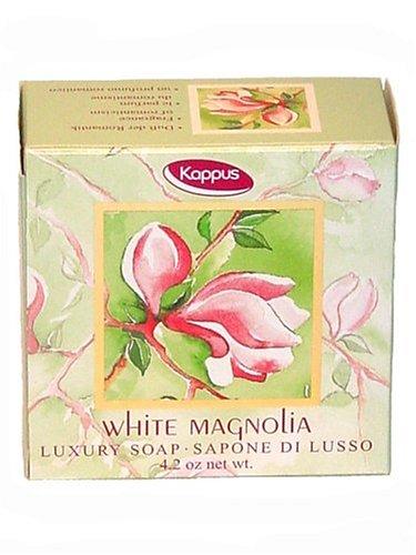 Kappus Seife White Magnolia 125 g, 4er Pack (4 x 125 g)
