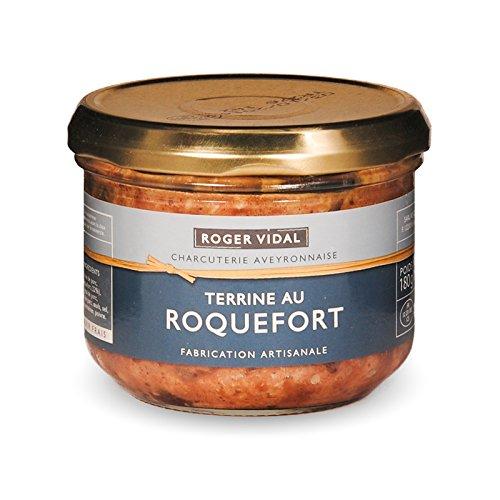 Roger Vidal - Pastete mit Blauschimmelkäse (Terrine au Roquefort) 180 g