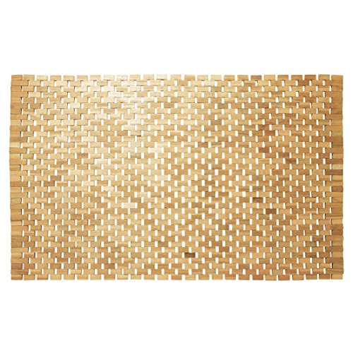 Sealskin Alfombra de Baño, Madera, marrón, 52X90 cm