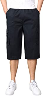 Auifor Casual Shorts for Stylish Men's Seven-Point M